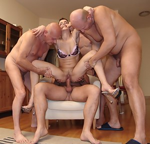 Young Gangbang Porn Pictures